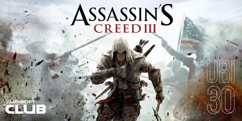 Assassin's Creed III gratis a Dicembre