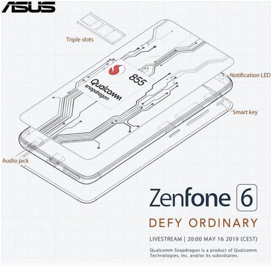 Zenfone 6 Instagram Annuncio
